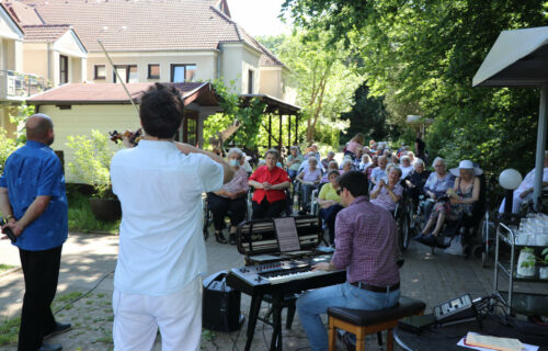 Konzert im Altenheim St. Josef